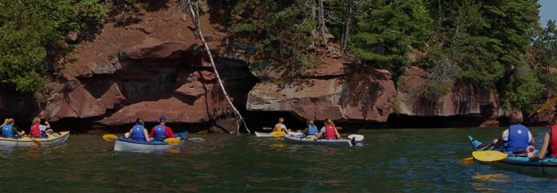 Apostle Islands Kayaking - Apostle Islands Cruises