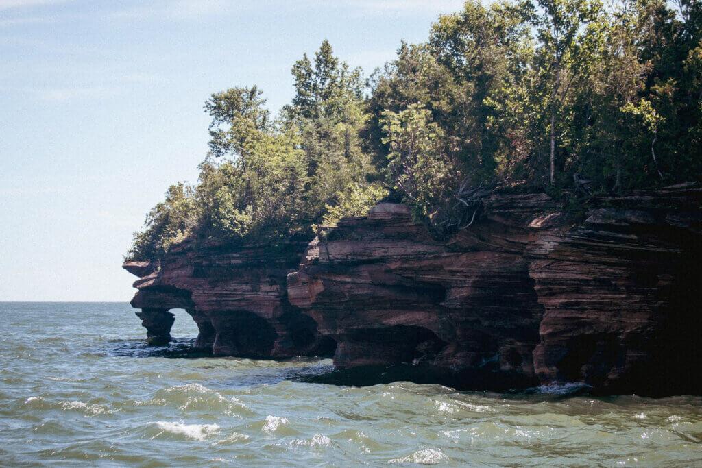 devils islands sea caves